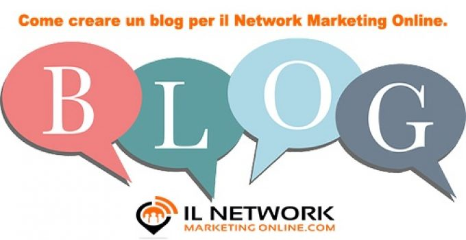 blog per il network marketing