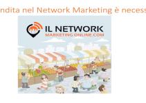 vendita nel network marketing