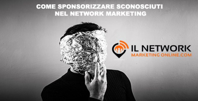 sponsorizzare sconosciuti