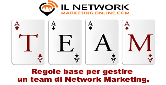 team di network marketing