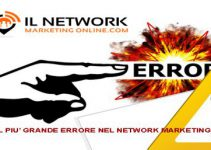 errore nel network marketing