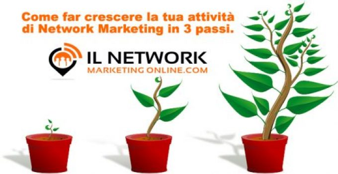Come far crescere la tua attività di network marketing