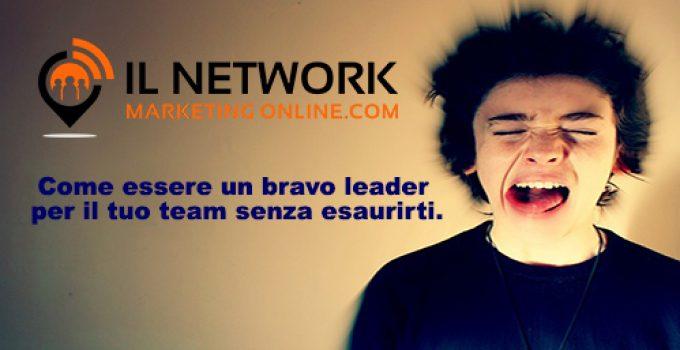 Come essere un bravo leader