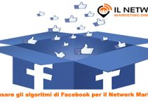 algoritmi di Facebook per il Network Marketing