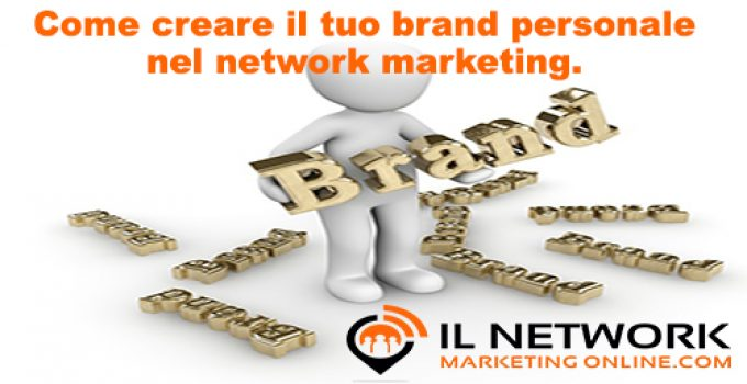 brand personale nel network marketing