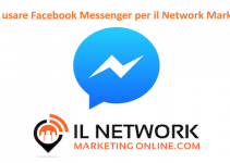Facebook messenger per il Network Marketing