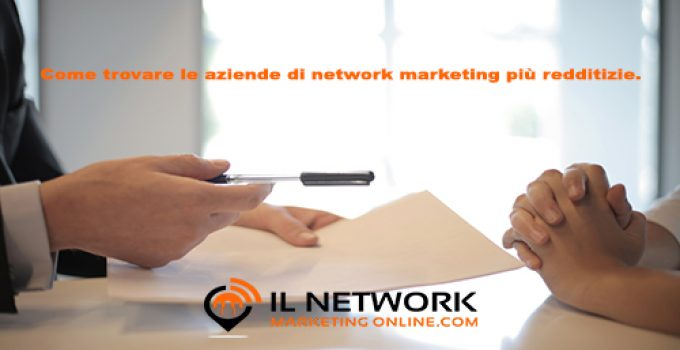 aziende di network marketing