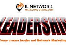 creare leader nel network marketing
