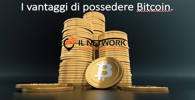 i vantaggi di possedere bitcoin
